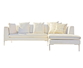 Bernard Sectional Sofa - Fabric