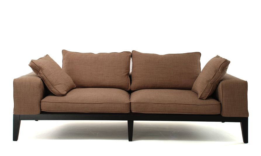 contemporary sofas, frank three seater sofas, living room furniture