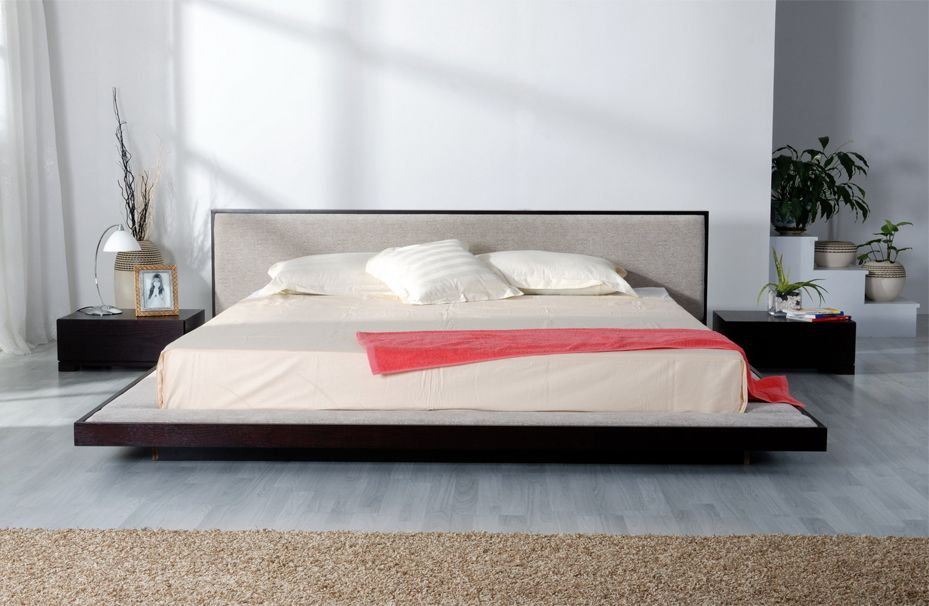 Narcisse Bed - Platform Bedroom, furniture :  platform modern furniture narcisse bed - platform bedroom furniture bedroom