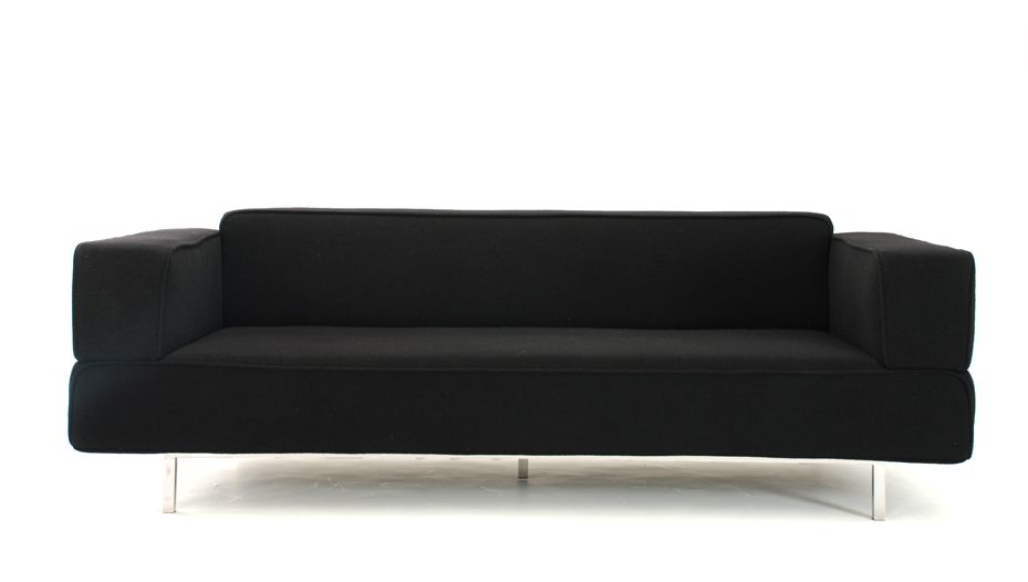 Ronald Aarad three seater fabric sofa