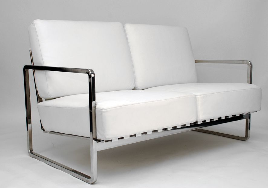Zen two seater modern love seat sofa