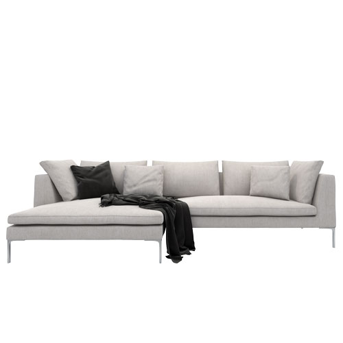 Bernard Sectional Sofa Wide Chaise