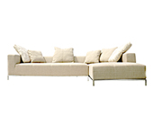 Cielo Modern Sectional Sofa - Fabric