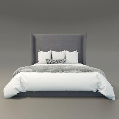 Adriatic King Bed at KMPfurniture.com