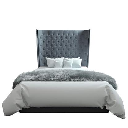 Oxford Tufted Bed at KMPfurniture.com