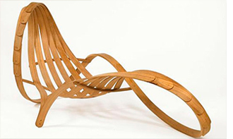 recycling lounge chair