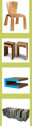 green furniture design