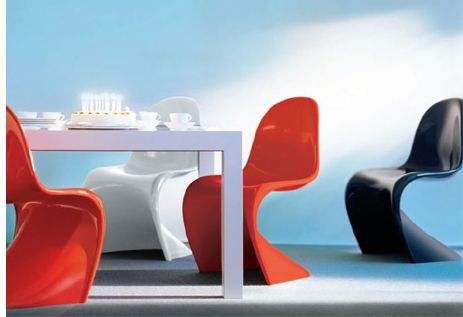 Verner Panton Panton Chair Danish Designer And Architect
