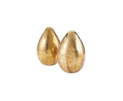 Obelisk-Gold Eggs(Set of two)