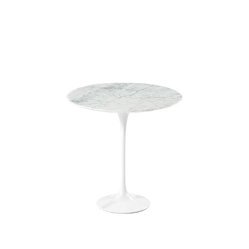 Flor Side Table - Marble White