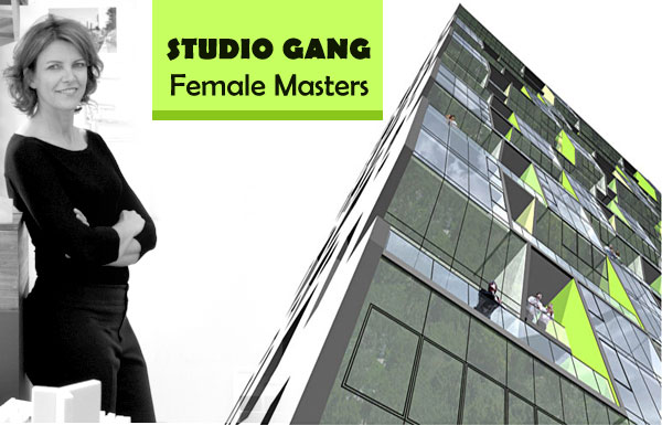 Studio Gang Female Master Architects<br>-173