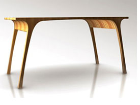 recycle wood tables - kmp furniture