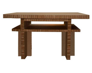 carboard table - kmp furniture