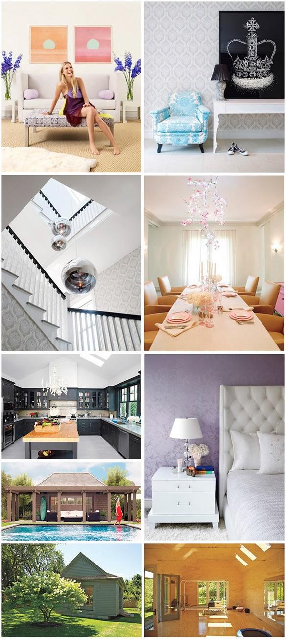 Celebrity Homes Demi Moore Portia Di Rossis