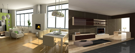 modern furniture style. Modern Furniture Combined With Good Interior Design; Create Atmosphere And Style