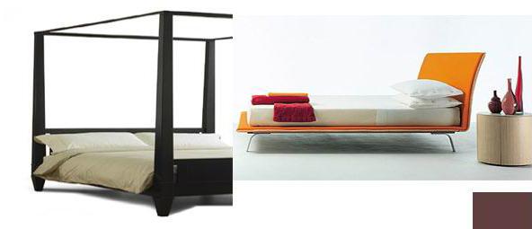 Las camas de plataforma son el elemento central del dormitorio