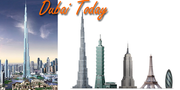 Dubai Building, the Worlds Tallest Building