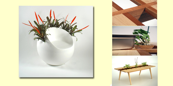 Green furniture, modern eco furniture, Green Design