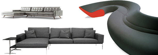 modern sectional sofas  sc 1 st  KMP Furniture : modern sectionals - Sectionals, Sofas & Couches