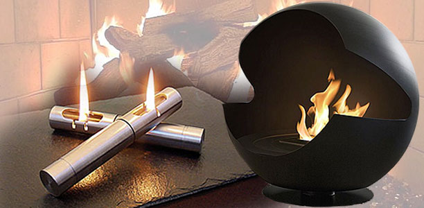 Cool Portable Fireplaces, A Cozy Modern Convenience